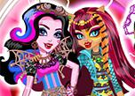 play Monster High Freaky Fusion