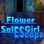 Flower Sales Girl Escape game