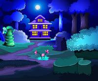 play Blue Forest House Escape