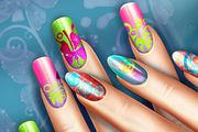 play Floral Reallife Manicure Girl