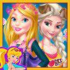 play Barbie And Elsa Ootd