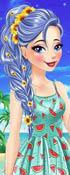 Disney Princesses Summer Braids game