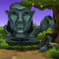 play Games4Escape-Statue-Forest-Escape