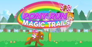 Pony Run Magic Trials game