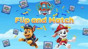 Paw Patrol: Flip And Match game