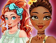 play Disney Princesses Beach Getaway