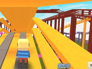 play Kogama: Rollercoaster World