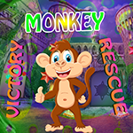 play Victory Monkey Rescue Game