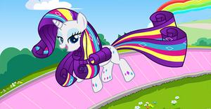 Rarity Rainbow Power Style game