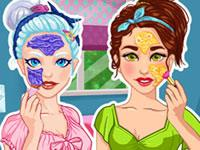 Crystal And Olivia Bff Real Makeover game