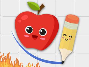 play Fruit Escape: Draw Line