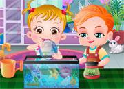 Baby Hazel Goldfish game