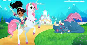 play Nella The Princess Knight Sleepy Dragon Adventure