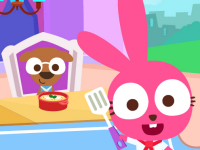 play Papo World Bunny'S Restaurant