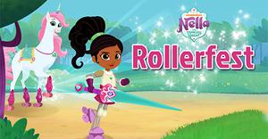 play Nella The Princess Knight Rollerfest
