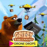 Grizzy And The Lemmings Drone Drops game