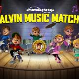 Alvin Music Match game