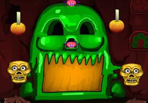 play Halloween Adventure Cave Escape
