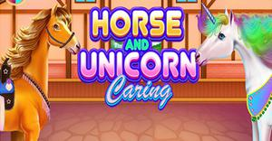 play Horse And Unicorn Caring