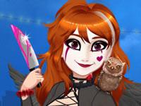 play Halloween Princess Makeover