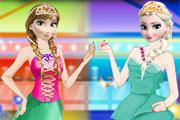 Elsa And Anna Party game