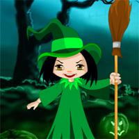 play Halloween Witch Candy Bowl Escape