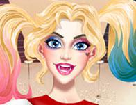Harley Quinn Hair And Make Up Studio game