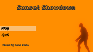 Sunset Showdown game