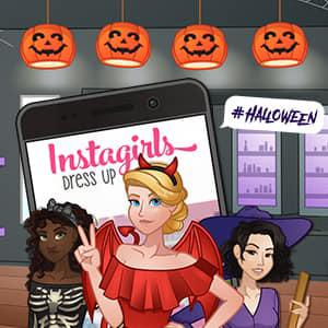play Instagirls Halloween Dress Up