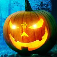 play Halloween Green Pumpkin Escape