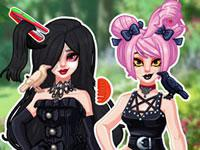 Gothic Princess Real Haircuts game