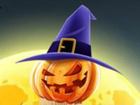 play Halloween Swipe Out