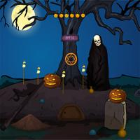 play Games4Escape Halloween Scary Ghost Rescue