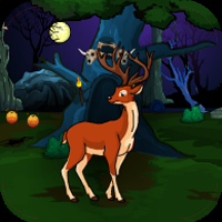 play G4E Halloween Deer Hunting Forest Escape