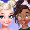 play Princesses Bow Hairstyles