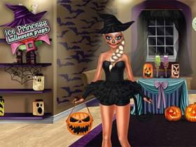 Ice Princess Halloween Preps - Free Game At Playpink.Com game