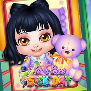 play Baby Snow Sick Day
