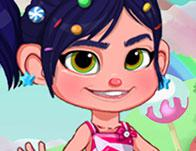 Candyland Dress Up game