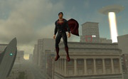 play The Superman - Theme Is Aliens