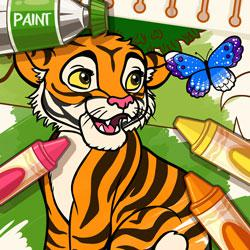 play Color Me Jungle Animals