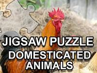 play Jigsaw Puzzle Domesticated Animals