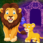 play Lion And Cub Escape