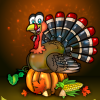 Thanksgiving Party House Escape 2018 game