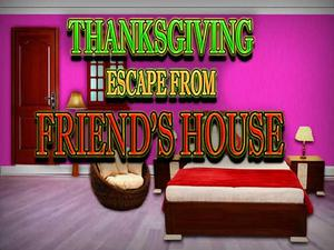 play Thanksgiving Escape From Friends House