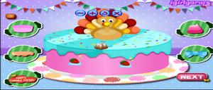 play Happy Thanksgiving Cake Master