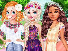 play Design My Stylish Flower Crown