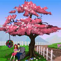 play Romantic-Park-Escape-Games4Escape