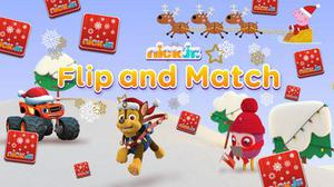 play Nick Jr. Christmas Flip And Match