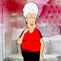 play Grandma Winter Holiday Escape