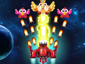 play Chicken Invaders